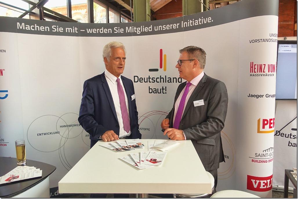 Deutschland baut zeigt erneut Präsenz beim Tag der Deutschen Bauindustrie